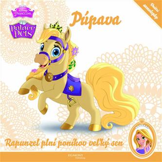 Palace Pets 1 Púpava Rapunzel plní poníkov vežký sen