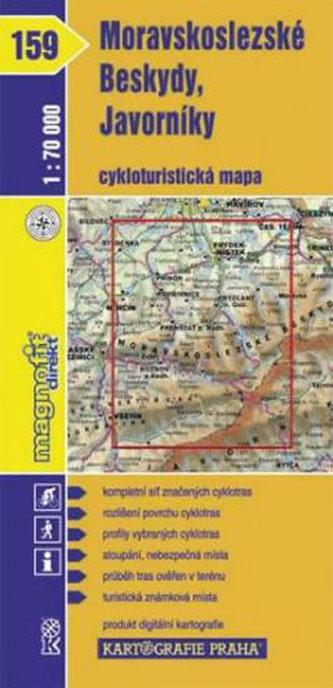 Moravskoslezské Beskydy Javorníky 1:70 000