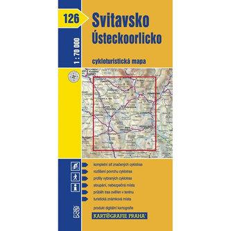 1: 70T(126)-Svitavsko, Ústeckoorlicko (cyklomapa)