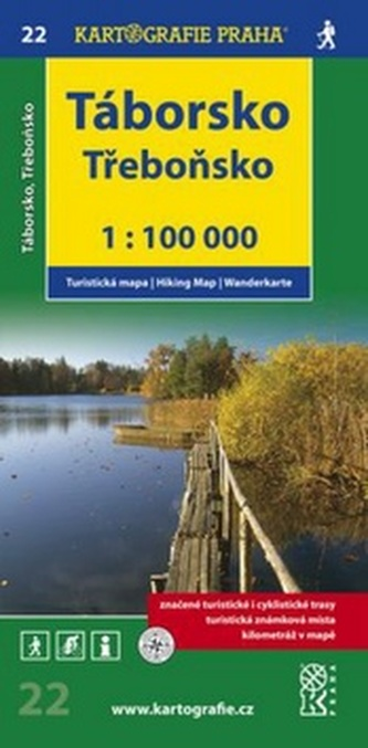 Táborsko Třeboňsko 1:100 000