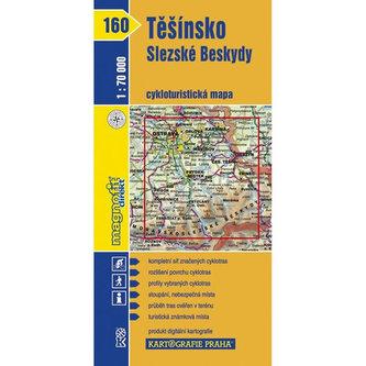 1: 70T(160)-Těšínsko, Slezské Beskydy (cyklomapa) - neuveden