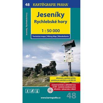 Jeseníky Rychlebské Hory 1:50 000