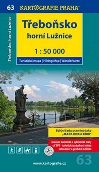 Třeboňsko Horní Lužnice 1:50 000