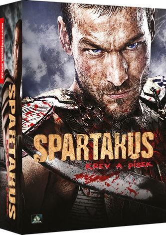 Spartakus: Krev a písek 5DVD