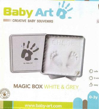 Sada pro otisk Magic Box White & Grey