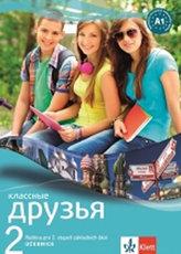 Klassnyje druzja 2 Ruština Učebnice