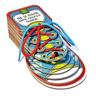 Jak se Honzík naučil zavazovat tkaničku