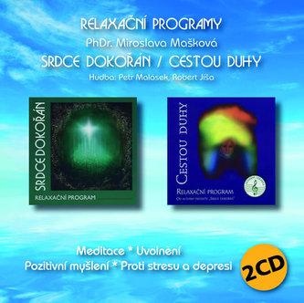 Srdce dokořán / Cestou duhy - Relaxační program 2 CD