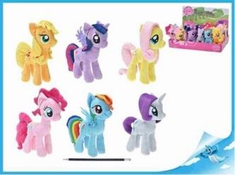 """BOX Poník plyšový 17cm My Little Pony"""" 6druhů 12ks v karbičce"""""""