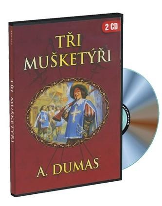 Alexandre Dumas Tři mušketýři 2CD