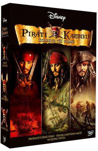 Komplet Piráti z Karibiku 3DVD