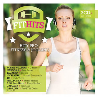Fit Hits- Hity pro fitness a jogging 2CD