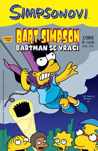 Simpsonovi - Bart Simpson 1/15 - Bartman se vrací - Matt Groening