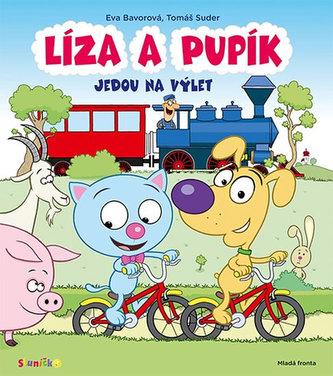 Líza a Pupík jedou na výlet - Bavorová Eva