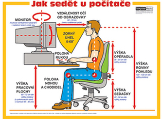 Jak sedět u počítače