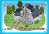 Hrad Scharfenstein - Stavebnice papírového modelu