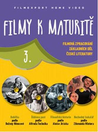 Filmy k maturitě 3 - 4 DVD (digisleeve)