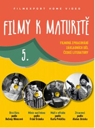 Filmy k maturitě 5 - 4 DVD (digisleeve)