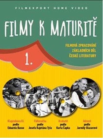 Filmy k maturitě 1 - 4 DVD (digisleeve)