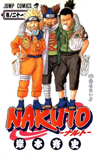 Naruto 21 - Neodpustitelné