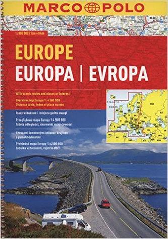 Europa. Atlas drogowy 1:800000