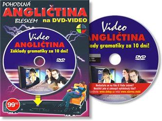 Angličtina základy gramatiky za 10 dní-DVD
