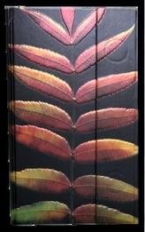 Zápisník s magnetickou klopou 100x180 mm černý s listy