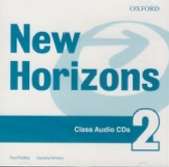 New Horizons 2 Class Audio CDs - Paul Radley; Daniela Simons