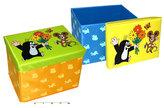 Krtek - Skládací sedátko/box na hračky 40 cm