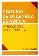 Historia de la lengua espaňola