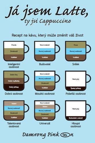 Já jsem latte, ty jsi cappuccino