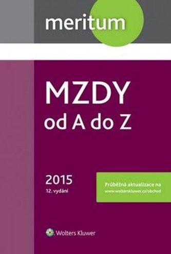 Mzdy od A do Z 2015