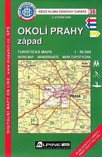 KCT 36 - Okolí Prahy - Západ