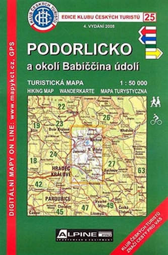 KCT 25 - Podorlicko a okolí Babičina údolí