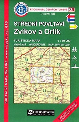 KCT 39 - STŘEDNÍ POVLTAVÍ - Zvíkov a Orlík