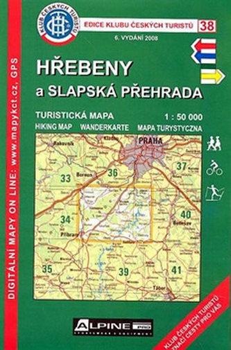 KCT 38 - Hřebeny a Slapská přehrada