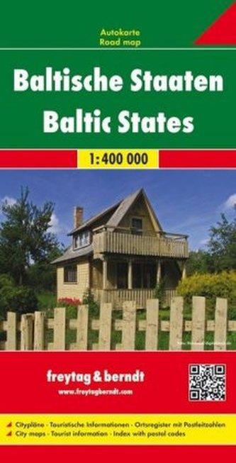 Freytag & Berndt Autokarte Baltische Staaten. Baltic States / États Baltes / Stati Baltiche / Estados Bálticas