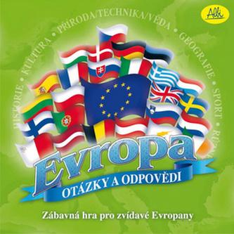 Evropa - otázky a odpovědi společenská hra v krabici 25x25x6cm