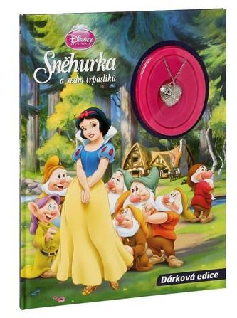 Knížka Sněhurka s hračkou