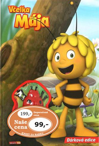 Knížka Včelka Mája s hračkou