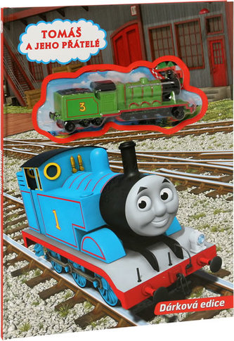 Knížka Tomáš mašinka s hračkou