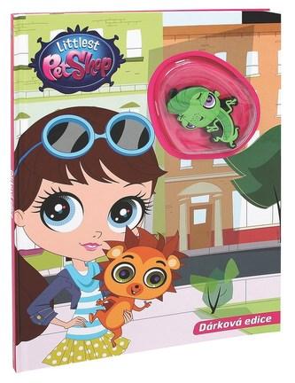 Knížka Littlest Pet Shop s hračkou