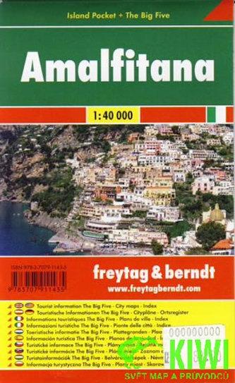 Turistická mapa Amalfitana