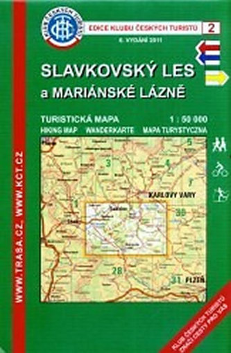 TM Slavkovský les 2 1:50T KČT