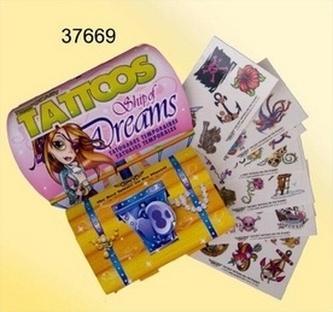 Tetování krabička Dreams