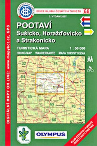 KČT 68 - Pootaví, Sušick, Horažďovicko a Strakonic