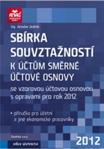 Sbírka souvztažností k účtům směrné účtové osnovy