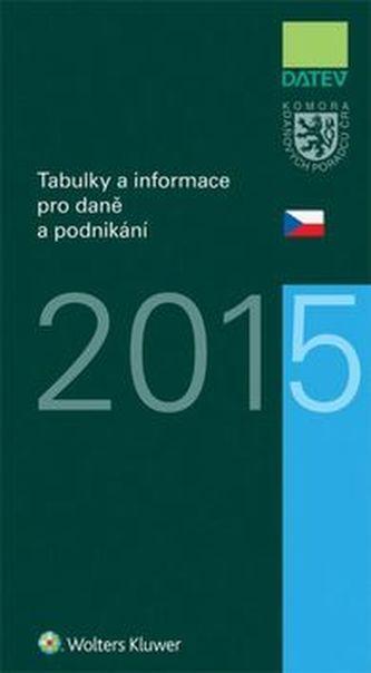 Tabulky a informace pro daně a podnikání 2015