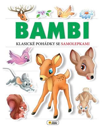 Bambi Klasické pohádky se samolepkami