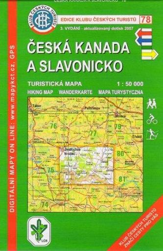 KČT 78 - Česká Kanada a Slavonicko